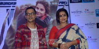 Vidya Balan promotes Kahaani 2 in Kolkata