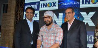 Stylish Aamir Khan inaugurates Inox's Laserplex Insigni