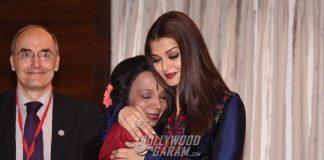 Aishwarya Rai Bachchan at World Congress of Dance with teacher Lata Surendra