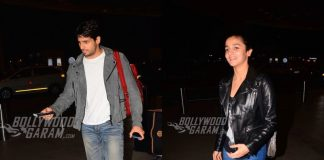 Alia Bhatt and Siddharth Malhotra Snapped Together!