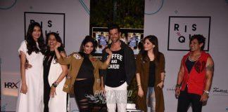 Hrithik Roshan and Athiya Shetty at Anindita De's food blog launch