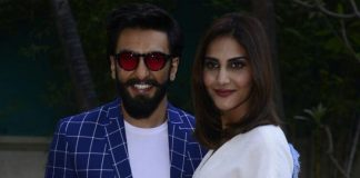 Ranveer and Vaani Kapoor at Befikre promotions