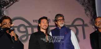 Amitabh Bachchan and Tiger Shroff grace Mahurat event of Marathi movie Bhikari