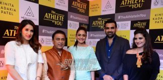 Zaheer Khan and Sagarika Ghatge appear together at book launch event