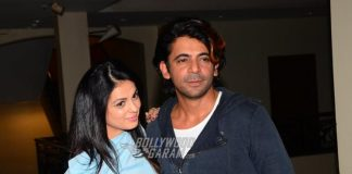 Sunil Grover and Anjana Sukhani promote Coffee With D