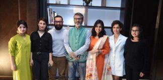 Aamir Khan and team Dangal promote in Delhi