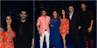 Aditya Roy Kapur, Shraddha Kapoor Promote 'OK Jaanu' on Indian Idol S9