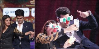 Jacqueline Fernandez & Manish Paul Get Candid on The Sets of Jhalak Dikhhla Jaa S9