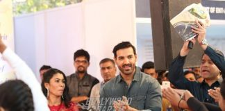 John Abraham at Holy Spirit Hospital celebrations