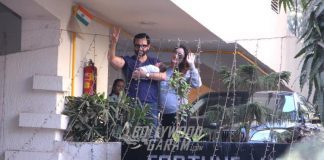 Kareena Kapoor and Saif Ali Khan Bring Their Son Home