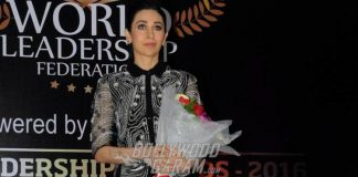 Karisma Kapoor maintains elegant look at India Leadership Awards event