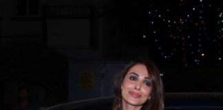 Malaika Arora at Mt. Mary's Midnight Mass – Exclusive Photos