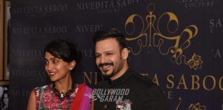 B'Town celebrities at fashion event by Nivedita Saboo