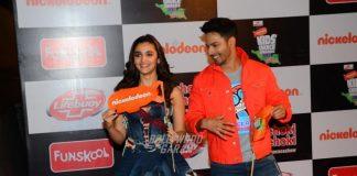 Varun Dhawan and Alia Bhatt win Jodi Of the Year at Nickelodeon Kid's Choice Awards