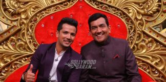 Sanjeev Kapoor blends along with actors on Comedy Nights Bachao Taaza