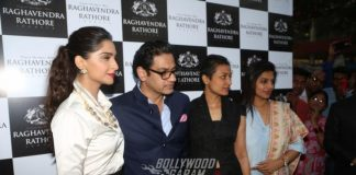 Sonam Kapoor launches Raghavendra Rathore's new store at Hyderabad