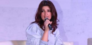 Twinkle Khanna and Shriya Saran at Times Lit Fest 2016