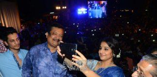 Vidya Balan inaugurates selfie point in Mumbai