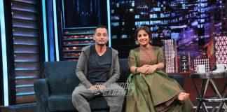 Sujoy Ghosh and Vidya Balan promote Kahaani 2 on sets of Yaadon Ki Baraat