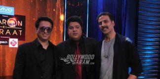 Akshay Kumar and Sajid Nadiadwala have fun on sets of Yaaron Ki Baraat