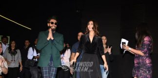 Ranveer Singh and Vaani Kapoor promote Befikre in Delhi