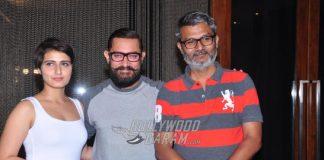 Aamir Khan in Hyderabad for Dangal press meet