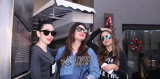 Kareena Kapoor shows off baby bump on lunch date with Karisma Kapoor and Amrita Arora