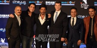 Shah Rukh Khan Launches Indian Academy Awards Trophy and Logo!