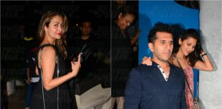 Amrita Arora Snapped at Olive Restaurant With Friends – Photos