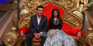 Anu Malik, Tanisha Mukherjee have fun on sets of Comedy Nights Taaza!