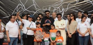 Arjun Kapoor and Raj Thackeray Attend Be Happy Event – Photos