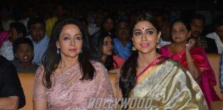 Hema Malini and Shriya Saran steal the show at audio launch event