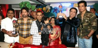 Govinda, Sonu  Sood and Shekhar Suman unveil 3rd Bright Awards trophy