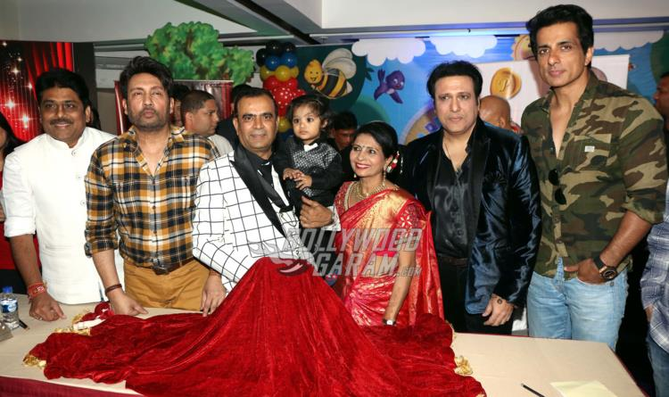 Sheilesh Lodha, Shekhar Suman, Yogesh Lakhani, Govinda and Sonu Sood unveil 3rd Bright Awards Trophy