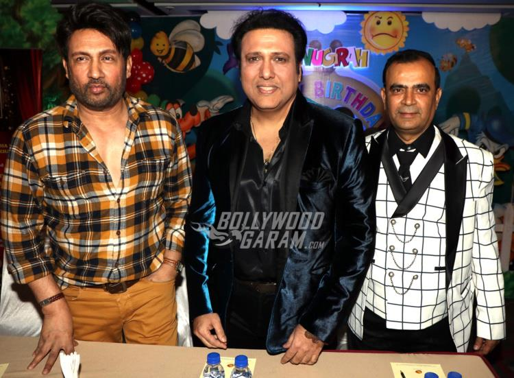 Shekhar Suman, Govinda and Yogesh Lakhani unveil 3rd Bright Awards Trophy