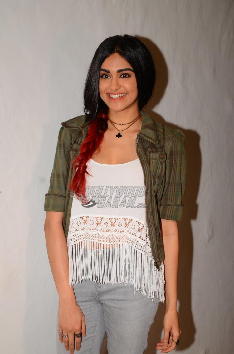 Adah Sharma at Commando 2 promotions