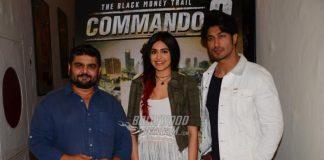 Vidyut Jamwal and Adah Sharma promote Commando 2