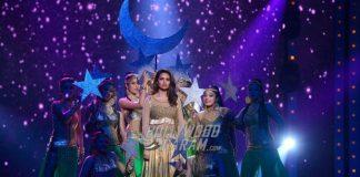 Esha Gupta, Lulia Vantur, Urvashi Rautela Perform at Star Plus Event