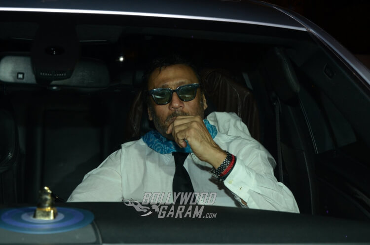 Jackie Shroff headed off to Filmfare Awards Party