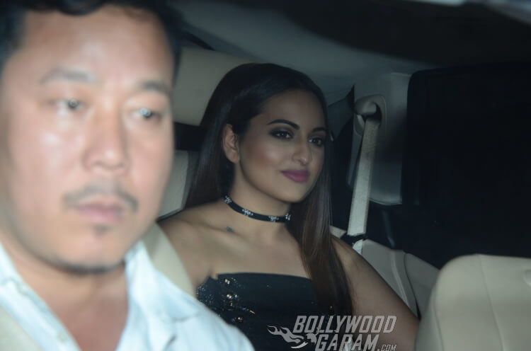Sonakshi SInha headed off to Filmfare Awards Party