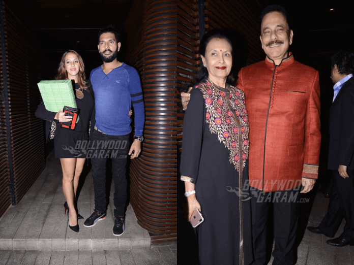 hazel-keech-yuvraj-singh-dinner-party-1