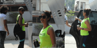 Snapped! Illeana D'cruz heading to Mubarakan Dance Rehearsals