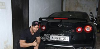 John Abraham Flaunts His New Black Nissan GTR!