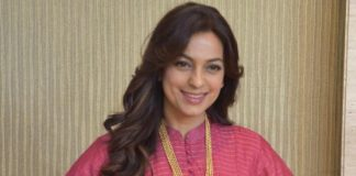 Juhi Chawla spreads awareness about plastic waste and pollution