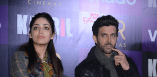 Hrithik Roshan and Yami Gautam at Kaabil Press Conference in Delhi