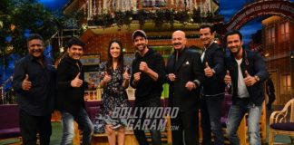 Hrithik Roshan and Yami Gautam promote Kaabil on The Kapil Sharma Show