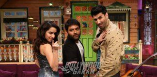 Shraddha Kapoor and Aditya Roy Kapur promote OK Jaanu on The Kapil Sharma Show