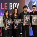 Shahrukh Khan and Shweta Bachchan at Karan Johar's book launch event
