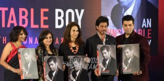 Shahrukh Khan and Shweta Bachchan at Karan Johar's book launch event