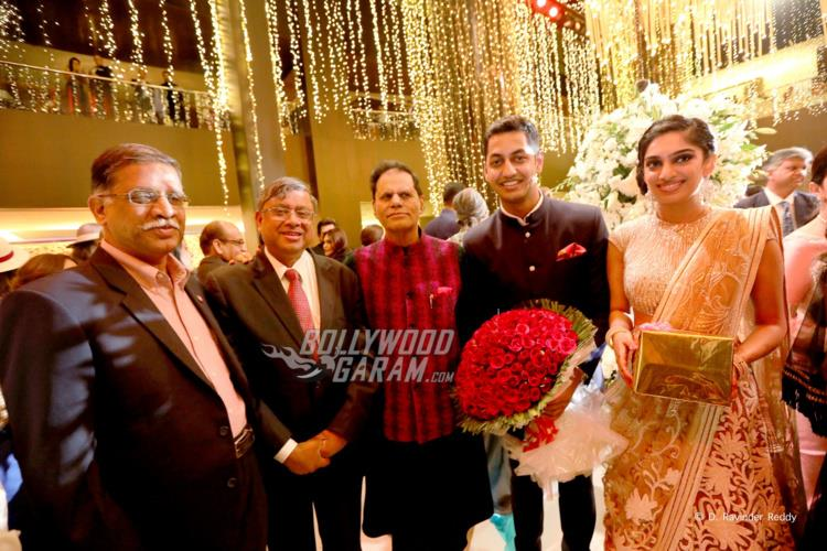 Guests at Sangeet ceremony